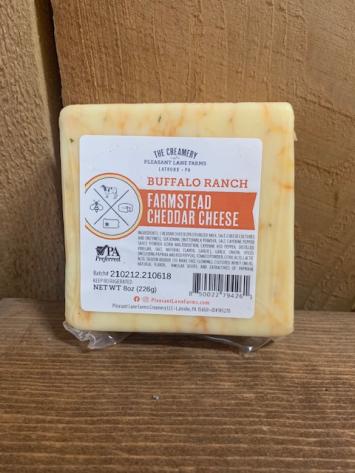 Buffalo Ranch Farmstead Cheddar Cheese