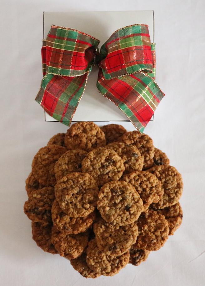 Gift Box of Oatmeal Raisin Cookies