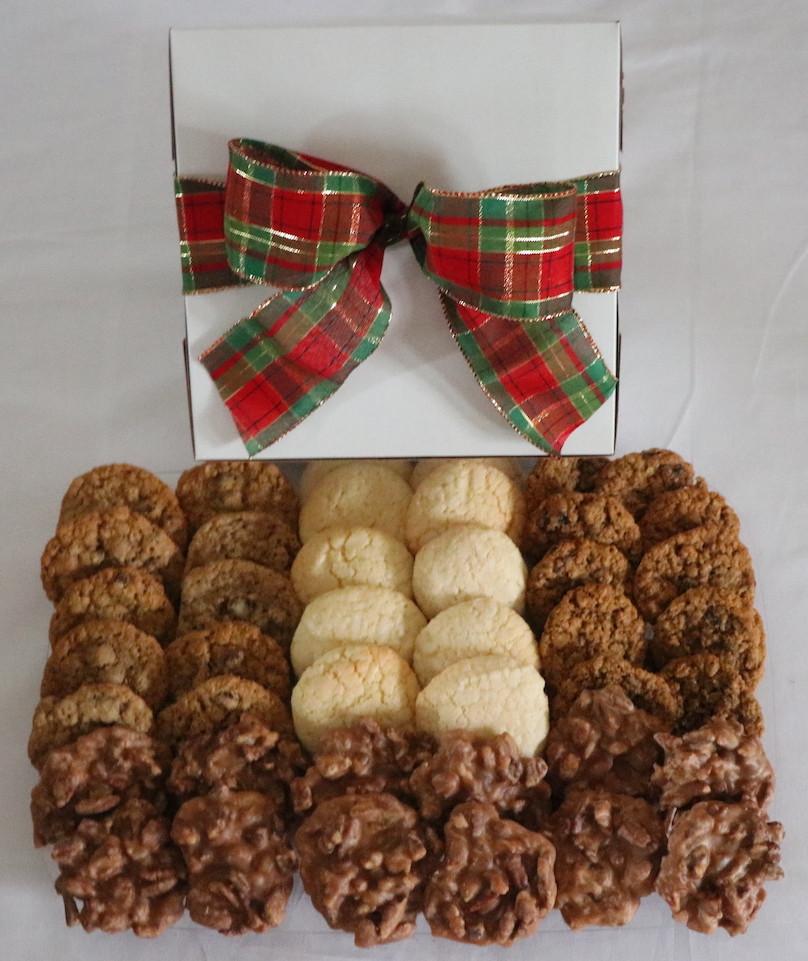 Sampler Box of Cookies & Pralines