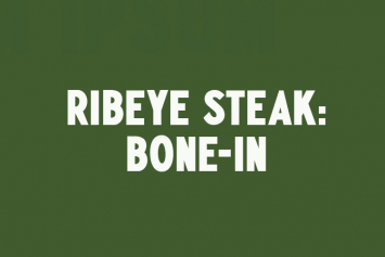 Ribeye Steak - bone-in
