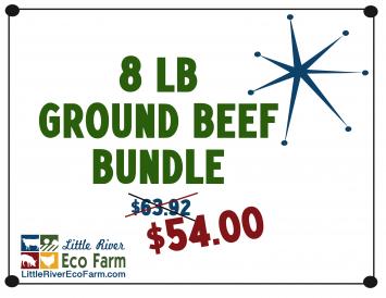 8LB Ground Beef Bundle