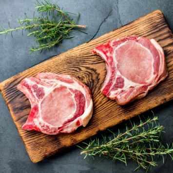 Pork Chops - bone-in