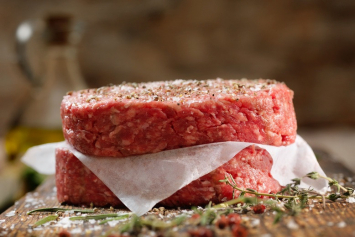 4 - 6oz. Seasoned Ground Beef Patties