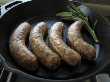 Beef - Onion Garlic Sausage