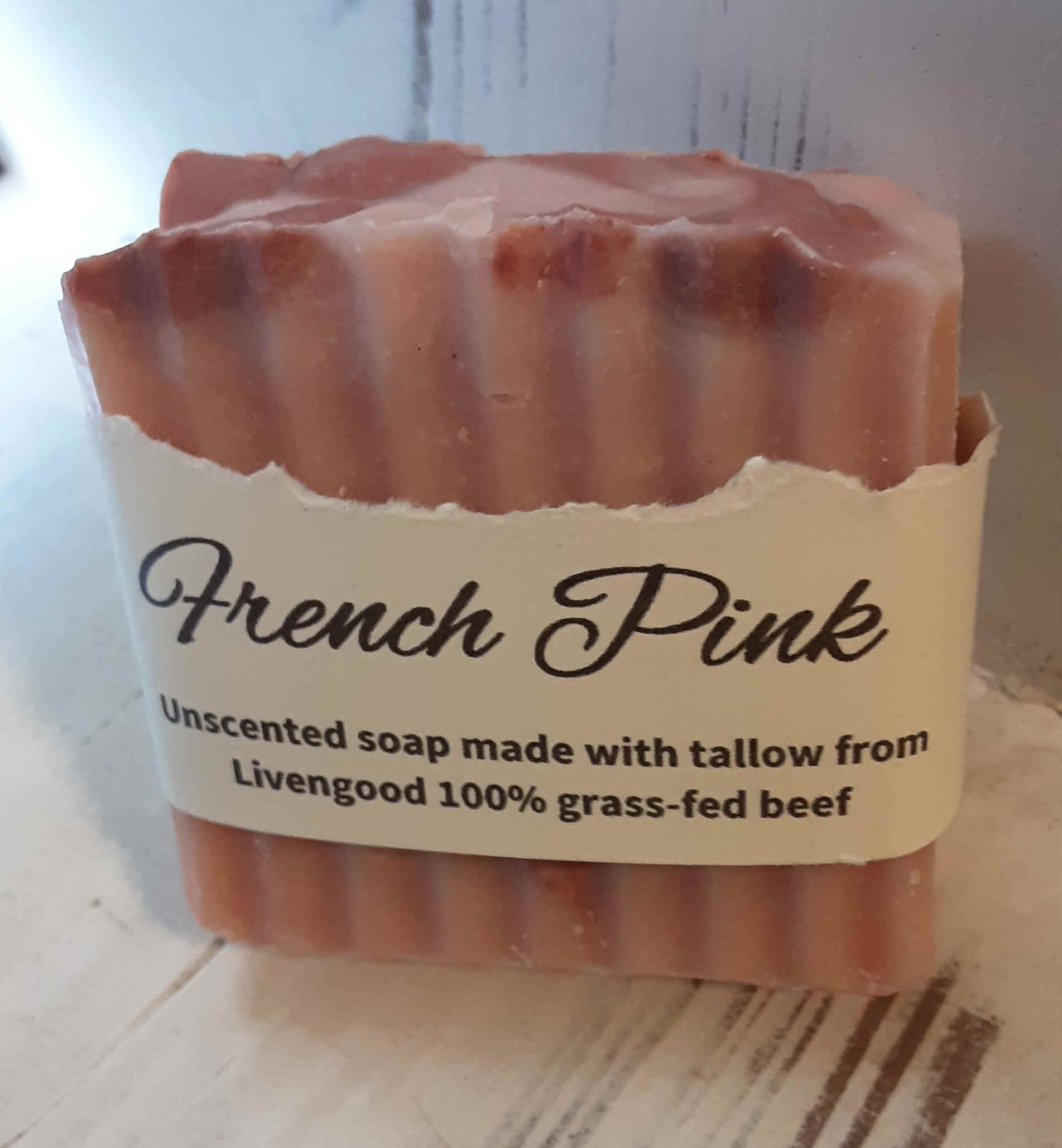 French Pink Soap Bar