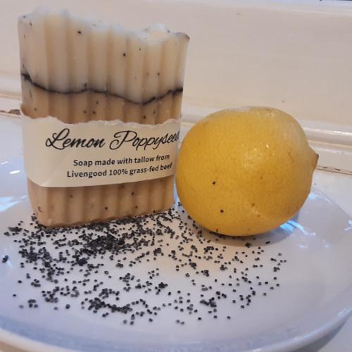 Lemon Poppyseed Soap Bar