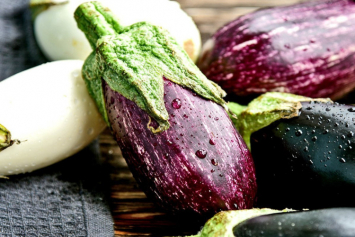 Eggplants, mixed varieties