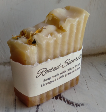 Rooted Sunrise Soap Bar