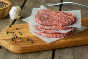 Beef 4 x 4 oz. patties