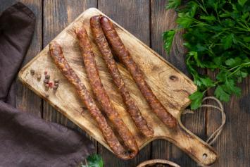 Pork Sausage Grillers - smoked (NSA)