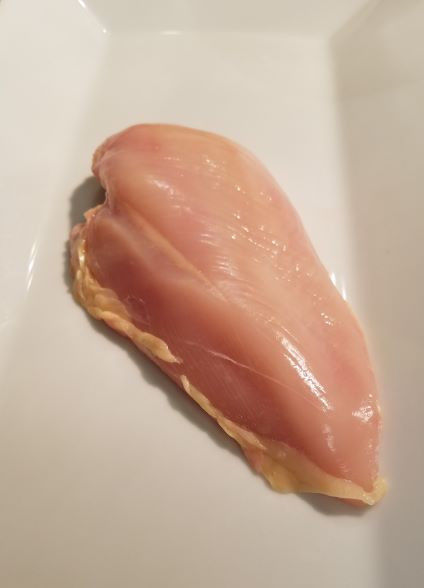 Chicken Breasts: Skinless 1/pk