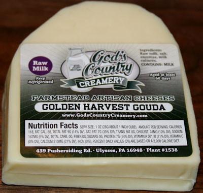 Golden Harvest Gouda Cheese