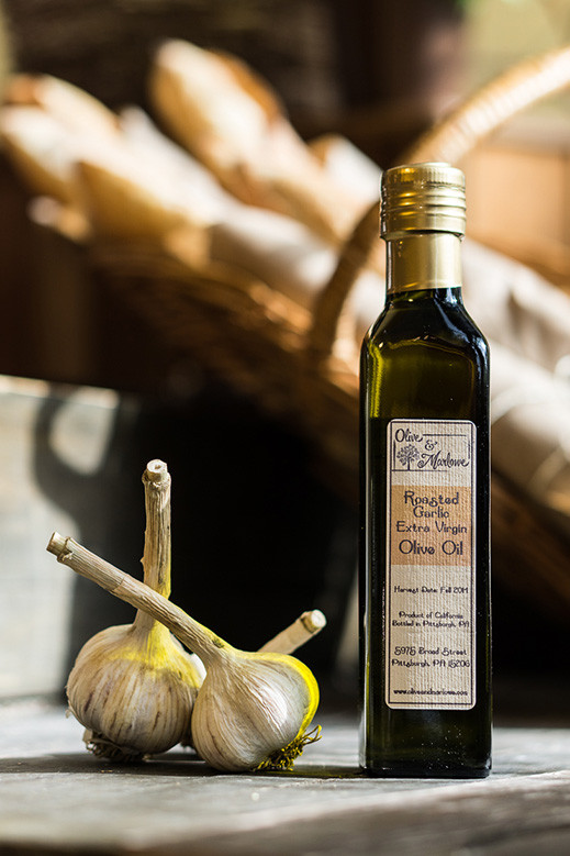 Roasted Garlic Olive Oil (250 mL)