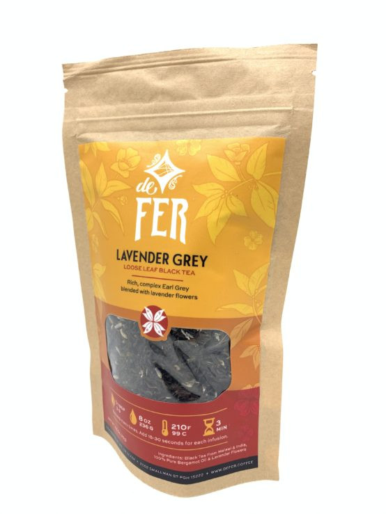 Lavender Grey Loose Leaf Tea