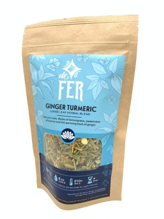 Ginger Turmeric Loose Leaf Tea