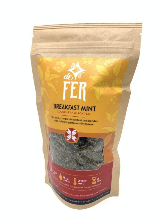 Breakfast Mint Loose Leaf Tea