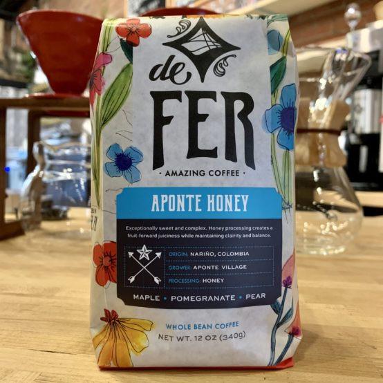 Aponte Honey Whole Bean Coffee (de Fer)