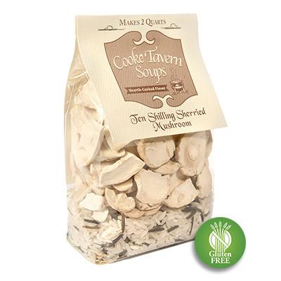 Ten Shilling Sherried Mushroom Soup Mix (GF)