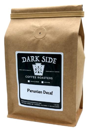 Peruvian Decaf (Ground- Dark Side Coffee)