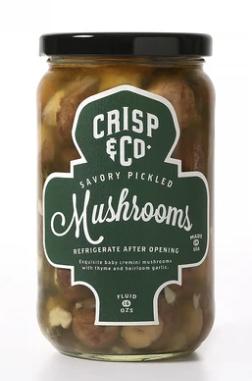 Savory Pickled Mushrooms