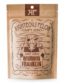 Bourbon Franklin Beef Jerky
