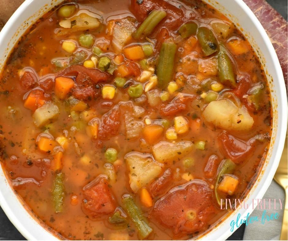 Vegetable Soup (Frozen Quart)