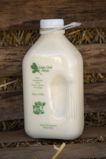 Raw Milk (With Bottle to Return)