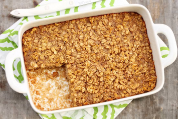 Brown Sugar Baked Oatmeal (8x8)