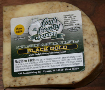 Black Gold Cheese