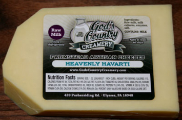 Heavenly Havarti Cheese