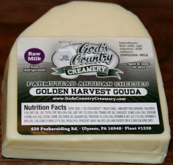 Golden Harvest Gouda Cheese