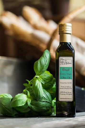 Basil Olive Oil (250 mL)