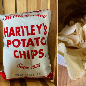 Plain Kettle Cooked Chips