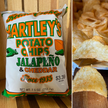 Jalapeno Cheddar Kettle Cooked Chips