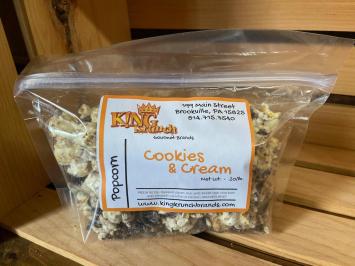 Cookies & Cream Popcorn (Small)