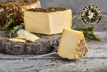 Wild Rosemary Cheese (Goat Rodeo)
