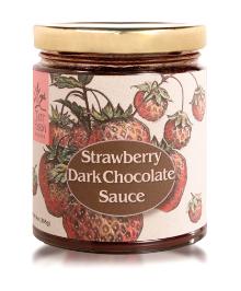 Strawberry Dark Chocolate Sauce