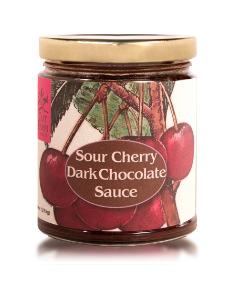 Sour Cherry Dark Chocolate Sauce