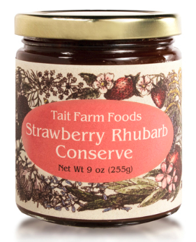 Strawberry Rhubarb Conserve