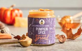Pumpkin Spice Honey Cream Spread