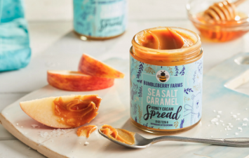 Sea Salt Caramel Honey Cream Spread