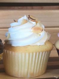 Toasted Almond Cupcakes (Half Dozen)