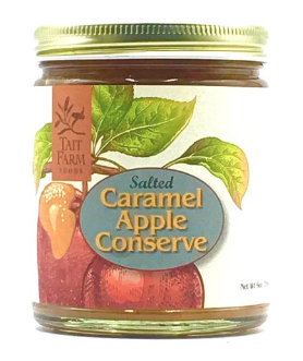 Salted Caramel Apple Conserve