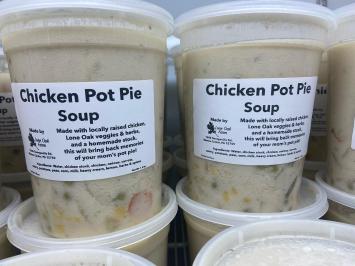 Chicken Pot Pie Soup (Frozen Quart)