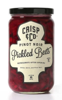 Pinot Noir Pickled Beets