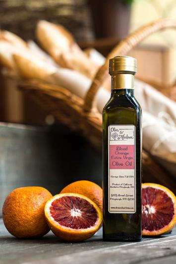 Blood Orange Olive Oil (250 mL)