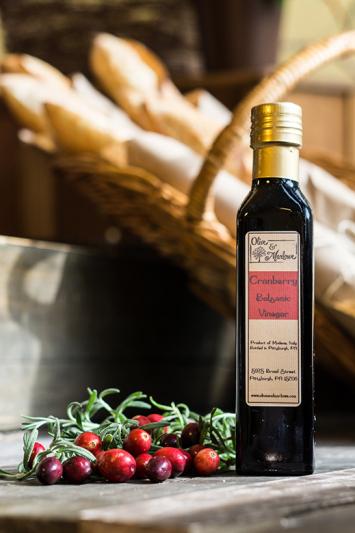 Cranberry Balsamic Vinegar (250 mL)