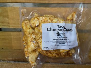 Taco Cheese Curds (8 oz Bag)