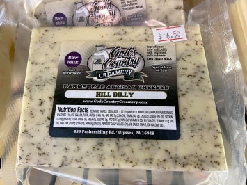 Hilldilly Cheese