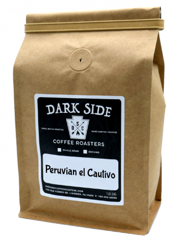 Peruvian el Cautivo Coffee (Ground- Dark Side Coffee)